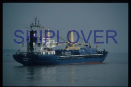 diapositive authentique cargo ALSTERN en 1988 (r�f. D3997) - ship 35 mm photo slide - bateau/ship/schiff
