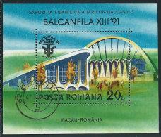 Romania 1990 BF Usato - Mi.4677  Yv.da BF.210 - Blocchi & Foglietti