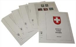 Lindner T Vordruckblätter T260/10 2014 Schweiz In Farbe - Jahrgang 2014 - Pre-Impresas