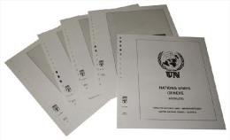 Lindner T Vordruckblätter T265K/08 2014 Vereinte Nationen GENF Kleinbogen Und Zusammendruckbogen - Jahrgang 2014 - Pre-Impresas