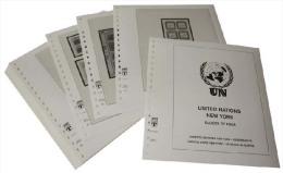 Lindner T Vordruckblätter T605K/08 2014 Vereinte Nationen WIEN Kleinbogen Und Zusammendruckbogen - Jahrgang 2014 - Pre-Impresas