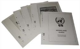 Lindner T Vordruckblätter T265H 2014 Vereinte Nationen GENF Markenheftchen 2014 - Pre-Impresas