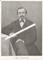 Ronco Sopra Ascona, Svizzera, Pittore Antonio Ciseri 1930, Giovanni Prati, Cm. 10 X 14. - Historical Documents
