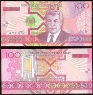 Turkmenistán 100 Manat 2005 Pick-18 UNC - Turkmenistán