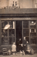 "Carte Photo A Iddentifier, Basse Normandie , Region Bayeux..devanturequincaillerie "" J. D'herouville "" - A Identifier"
