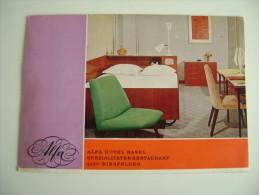 Alfa Hôtel Basel-Birsfelden  DOUBLE CARD   SUISSE   SVIZZERA  MACCHIE DI UMIDO BORDO VEDI FOTO - Hotels & Restaurants