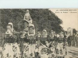 29 - Costumes Bretons - Pardon De Penhars - Procession - Finistère - Voir Scans - France