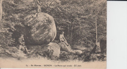 CPA - En Morvan - UCHON - La Pierre Qui Croule - EC Phot. - N°57 - Other Municipalities