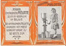 Ecremeuses � lait Melotte - Ontroomers M�lotte - Calendrier 1913