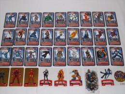 C04 TOP TRUMPS MARVEL HEROES LOTTO 37 CARDS SUPEROI SUPERHEROES - Marvel