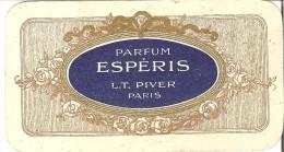 Parfum Esp�ris L.T. Piver - Paris - Calendrier 1912 et 1913