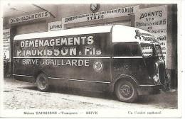 BRIVE - Maison TAURISSON - Transport - DEMENAGEMENT - Brive La Gaillarde