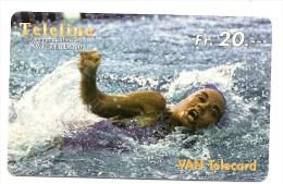 SWITZERLAND/ SUISSE - Teleline - Swimming / Natation - SPORT