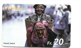 SWITZERLAND/ SUISSE - Teleline - Festival Austria