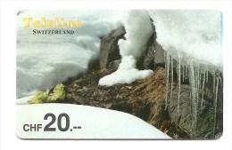 SWITZERLAND/ SUISSE - Teleline - glaciers
