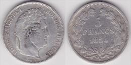 5 FRANCS LOUIS PHILIPPE 1834 K (voir Scan) - France