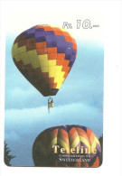 SWITZERLAND/ SUISSE - Teleline - Air balloon / Mongolfi�re