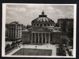 Bucuresti-Athenaeum-original Postcard-echte Photo-8x5.5cm-unused,perfect Shape - Monuments