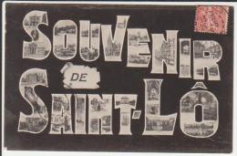 50 Saint Lô CPA Souvenir De SAINT LÔ - Saint Lo