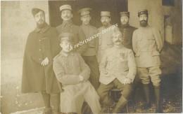 Carte Photo-officiers Divers Régiments Et Origines Dont 368-armée Coloniale? - Krieg, Militär