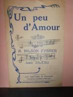 """PARTITION CHANT """"UN PEU D'AMOUR"""" Paroles: Nilson FYSHER et Musique:Lao SILESU"""
