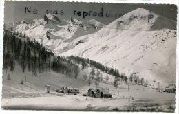 - 6453 - La Foux D´Allos - ( B.-A. ),  Auberge De Jeunesse, F.F.A.J.,  Petit Format , Écrite,  Glacée, TBE, Scans. - Photos