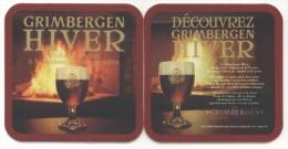 Grimbergen Hiver. Réchauffez-vous à La Chaleur De Son Caractère. Bière D'abbaye De 6,5 % Avec Des Notes D'épices, ... - Sous-bocks