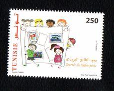 2014- Tunisie- Journée De La Poste 1v/ 2014- Tunisia- Postage Stamp Day 1v MNH** - Tunisia