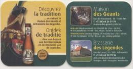 Gouyasse. Brasserie Des Légendes. Géant Cheval Bayard. Reus Ros Beiaard. Découvrez La Tradition. Ontdek De Traditie... - Sous-bocks