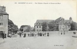 Guingamp (Côtes-du-Nord) - Vieil Hôpital, Chapelle Et Champ-aux-Roys - Edition Le Berre - Carte Non Circulée - Guingamp