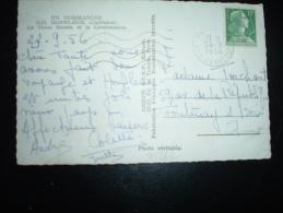 CP TP MARIANNE DE MULLER 12F OBL.MEC.24-9-1956 PARIS XII (75) - 1955- Marianne De Muller