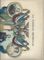 Grande Image D'Epinal Tirée Sur Le Bois Original De La Maison Pellerin, Famille Impériale De Napoléon III - Vieux Papiers