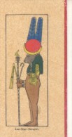 PTAH SEKER AUSAR  THE TRIUNE GOD OF RESURRECTION - ASAR-HAPI SERAPIS CPA CIRCULEE 1929 LUXSOR SHALLAL A  INGENIERO INSPE - Illustrators & Photographers