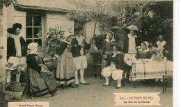 CPA 44 AU PAYS DU SEL LA DOT DE LA MARIEE 838 - France