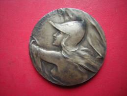 BELLE MEDAILLE  BRONZE MILITAIRE / MILITARIA   ???  PATRIA - Medals