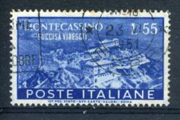 ITALY - SG791 -  MONTECASSINO 55L Cat £65 - 6. 1946-.. Republic
