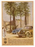 Original Werbung - 1941 - Ford Automobile In Den Tropen !!! - KFZ
