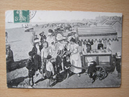 Berck-Plage - La Marchande De Glace - Berck