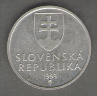 SLOVENIA 5 KORUNA 1993 - Slovenia