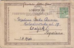 London - Letter Card W 6 Views 1925 - London
