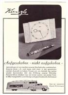Original Werbung - 1941 - Kienzle - Werbewagen , Uhrmacher , Uhren !!! - Antike Uhren