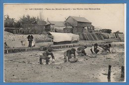 44 - Le CROISIC -- Parc Du Mont Esprit - La Pêche Des Palourdes - Le Croisic