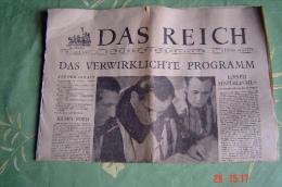 Wochenzeitung Das Reich 30 April 1944 - Zeitungen & Zeitschriften