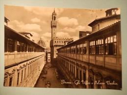 Firenze - Gli Uffizi E Palazzo Vecchio - Firenze (Florence)