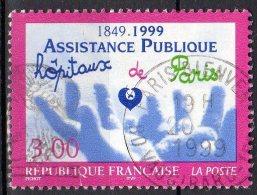 150e Anniv. De L'Assistance Publique - N° 3216 Obli. - France