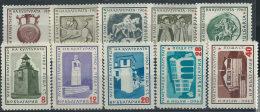 Bulgaria 1961 Nuovo** - Mi.1207/16  Yv.1050/9 - Bulgaria