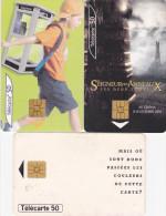 3 Télécartes 50 U France Télécom, Seigneur Des Anneaux Les 2 Tours, Kodak - Tarjetas Telefónicas