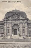 Germany Deutsches Reich PPC Darmstadt Portal Des Neuen Museums DARMSTADT 1908 (2 Scans) - Darmstadt