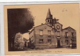 81- Monesties Sur Cerou   La Mairie - Monesties