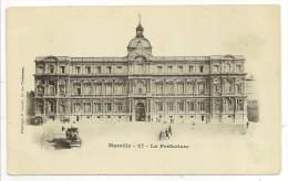"""13 - Marseille - La Préfecture - Phototypie E. Lacour N° 27 - Cpa """"précuerseur"""" Nuage - Monuments"""